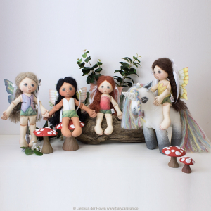 Fairy Caravan characters